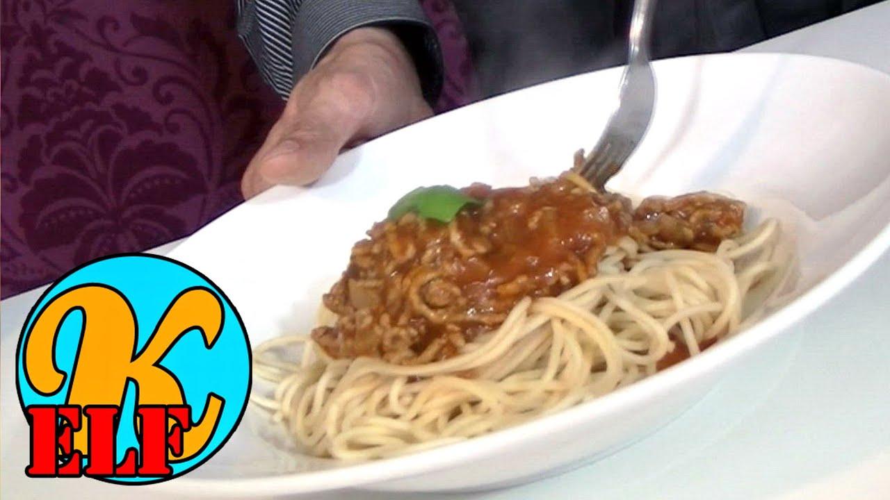 spaghetti soße selber machen