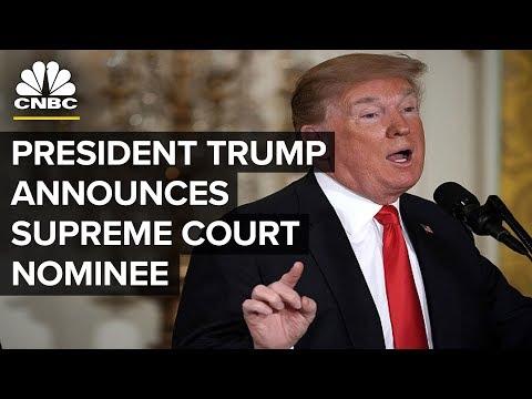 LIVE: President Trump Announces Supreme Court Nominee - July 9, 2018