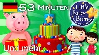 Alles Gute zum Geburtstag! | Und noch viele weitere Kinderlieder | von LittleBabyBum