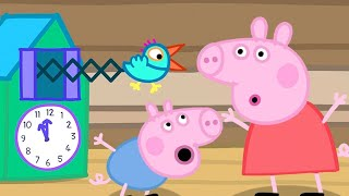 Peppa Pig Official Channel | Peppa Pig's Fun time with the Cuckoo Clock
