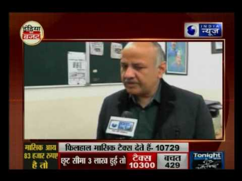 Budget 2017: Exclusive Interview with Delhi Deputy CM Manish Sisodia