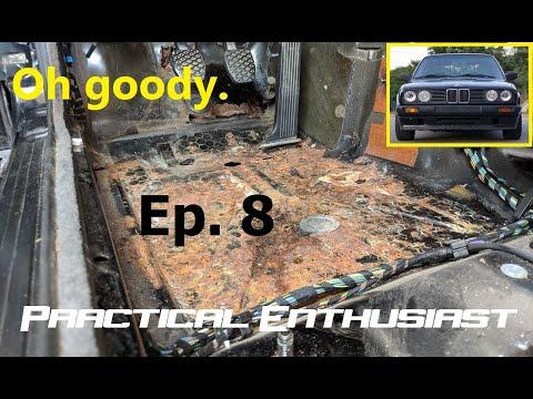 Project E30 Rust Repair – Jack Pad and Floorpan