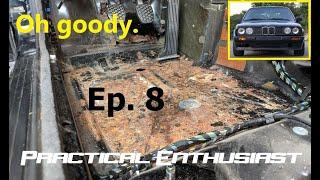 Project E30 / Ep. 8 / Rust Repair - Jack Pad and Floorpan