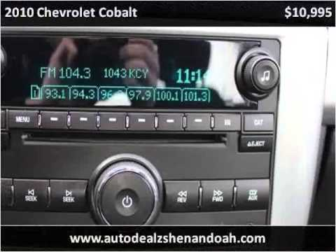 2010 Chevrolet Cobalt Used Cars Shendandoah VA