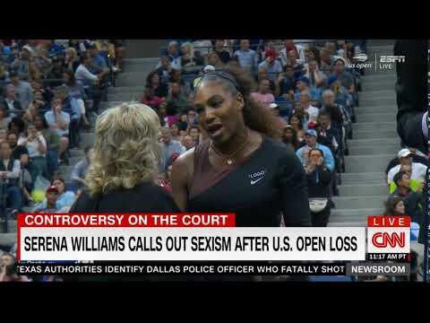 Pat Cash on Serena's US Open final on CNN