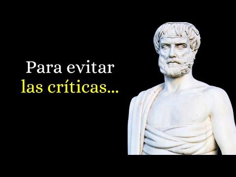 91 Frases Célebres De Aristóteles Narradas Youtube