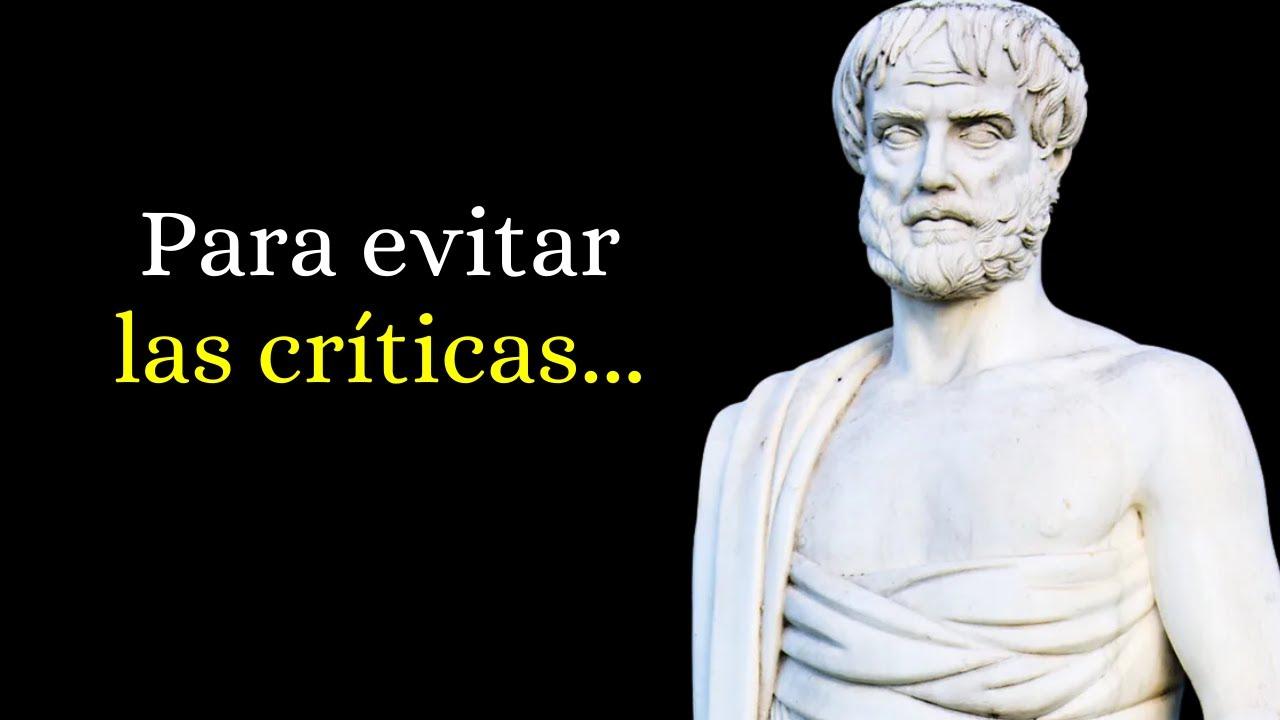 91 Frases Célebres De Aristóteles Narradas