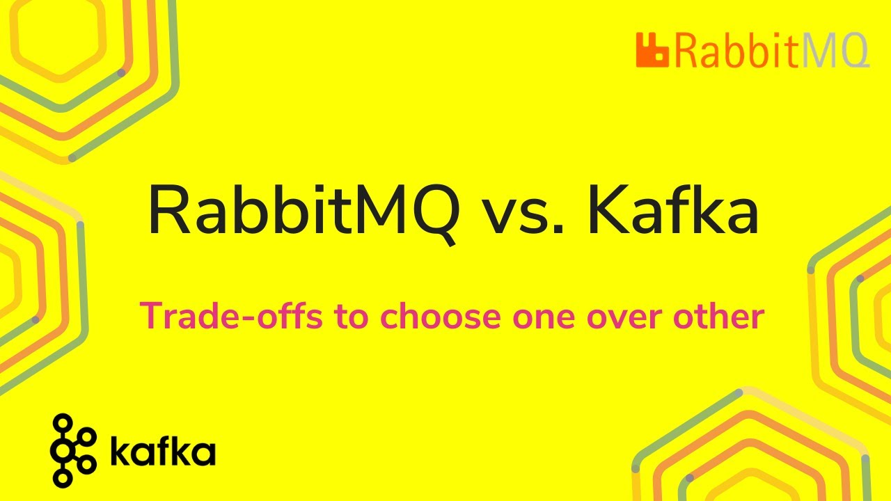 RabbitMQ vs Kafka | Trade-off's to choose one over other | Tech Primers