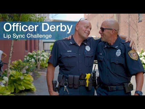 Officer Derby-Lip Sync Challenge