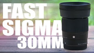 Sigma 30mm F1.4 Contemporary DC DN Lens Review(, 2016-12-16T17:28:35.000Z)