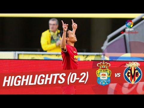 Highlights UD Las Palmas vs Villarreal CF (0-2)