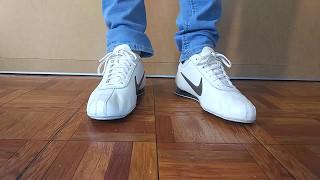 uk availability e642e b7930 Nike Shox Rivalry white and blue skinny jeans ...