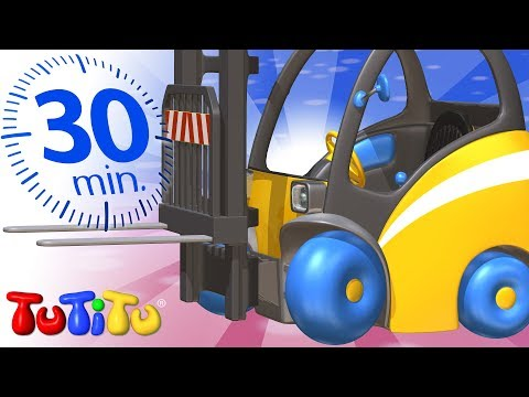 ของเล่นบนล้อ | รถยก | TuTiTu การรวบรวม