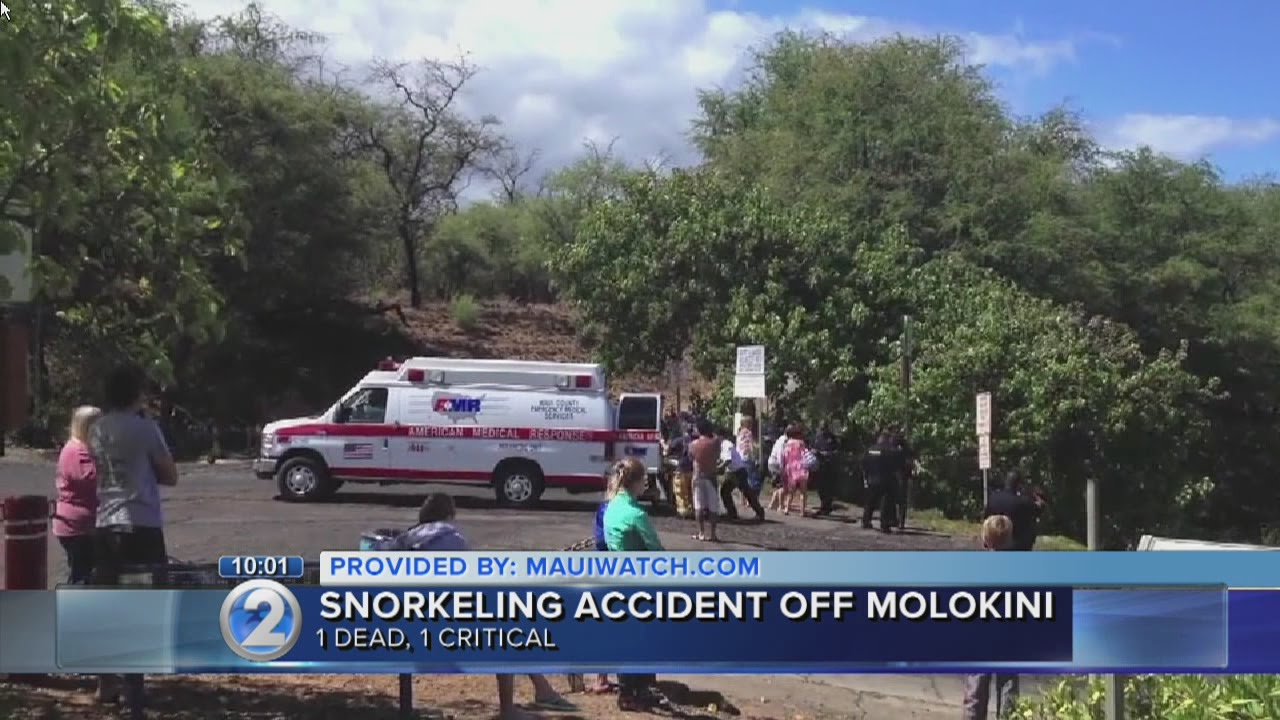 Snorkeler drowns in waters off Maui