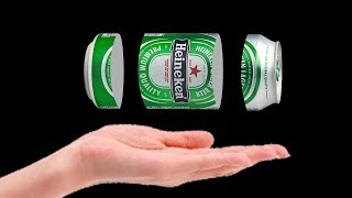 creative Beer Can Craft Idea -  Best Out of Waste - Aluminum Can Reuse Idea