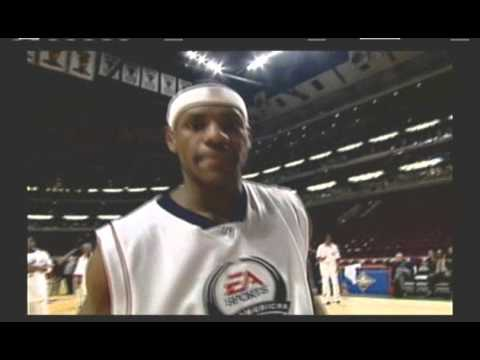 NBA Live 2004 Rookie Cleveland Cavalier LeBron James Cameo Intro