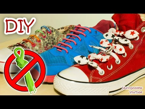 DIY Shoe Fasteners or How To Never Tie Your Shoes Again
