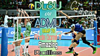 """Classic"" ATENEO LADY EAGLES vs LA SALLE LADY SPIKERS 