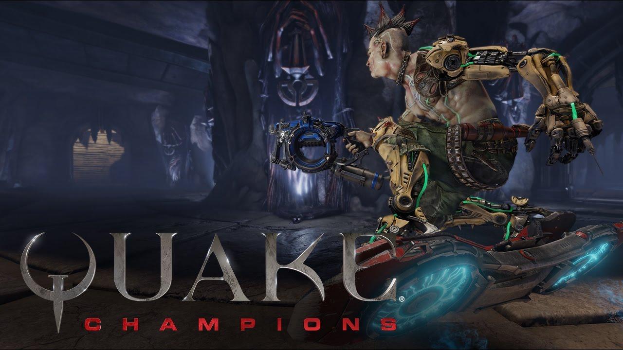 Quake Champions –Tráiler del juego sin editar - YouTube