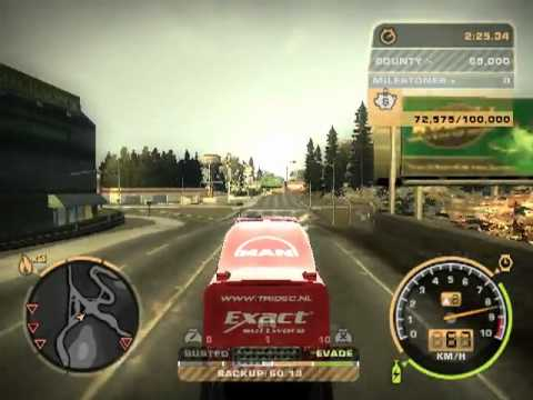 need for speed most wanted mod truck youtube. Black Bedroom Furniture Sets. Home Design Ideas