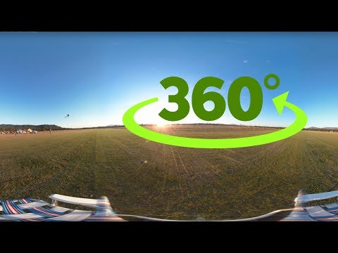 RC Heli Flight 360 Video! - Feel Like The Helicopter Flies Around You! | Pilot: Joseph Lai