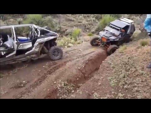 Rzr & Maverick Ride From Lake Pleasant To Prescott, AZ Via Senator Highway #losperdidosoffroad
