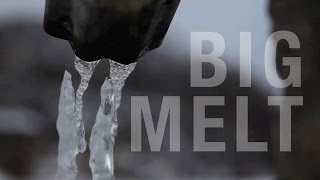 The Big Melt: A photographic survey of snow turning to water
