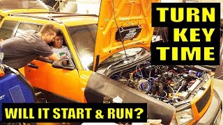 WILL IT START? 600HP COSWORTH EJ257 FORESTER - CRAZY CARROT BUILD
