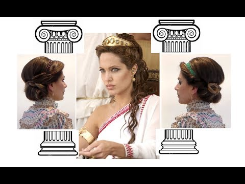Capellida DEA GRECA!  Greek goddess inspired - Ancient Hairstyles
