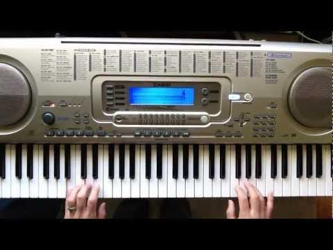 """Summertime"" song on keyboard"