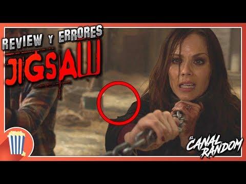ERRORES de películas JIGSAW Review Crítica y Resumen SAW 8