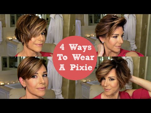 How To Style A Pixie 4 Ways