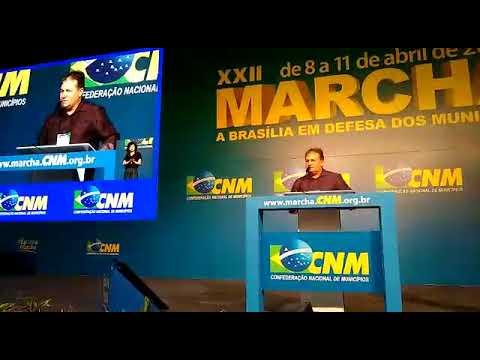 Vereador Cacildo Paião fala em marcha dos prefeitos em Brasilia