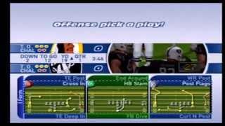 Madden NFL 2002 Raiders vs Redskins Part 1