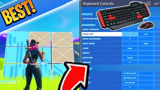 *NEW* BEST Keybinds for Keyboard and Mouse in Fortnite! BEST SETTINGS! (PC SETTINGS/KEYBINDS Guide)