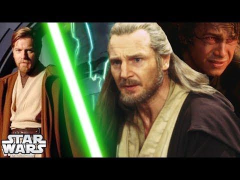 How Qui-Gon Helped Obi-Wan to Kill Anakin (indirectly) [CANON]