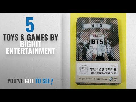 Top 10 Bighit Entertainment Toys & Games [2018]: BTS BANTAN BOYS - TRANSPARENT PHOTO CARDS 25pcs
