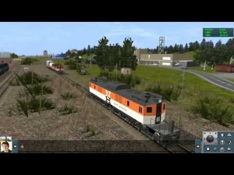 New Haven EP2 and EP3 electric engines in Trainz 2012 |
