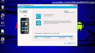 Easy install stock ROM on any Alcatel device