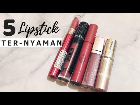 top-5-favorite-lipstick---ternyaman-&-ga-bikin-bibir-kering