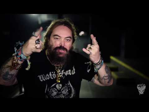 An interview with Max Cavalera