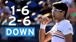Hyeon Chung's Incredible Comeback in 5-Set Thriller | US Open 2019