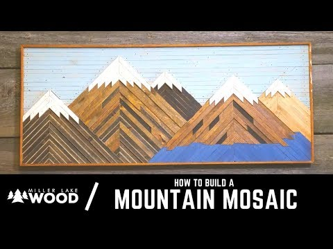 How To Build A Mountain Mosaic | From Start to Finish
