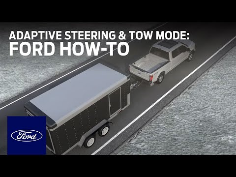 Adaptive Steering with TowHaul Mode  Ford HowTo  Ford