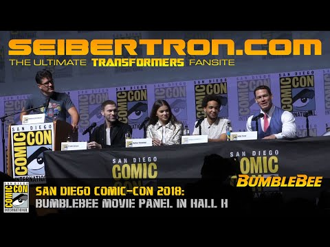 Bumblebee Movie panel at San Diego Comic-Con Hall H