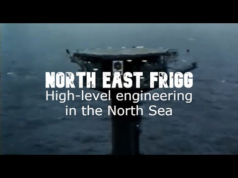 NORTH East Frigg - High-level engineering in the North Sea.