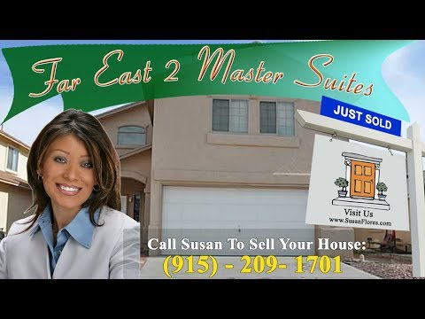 Homes For Sale In El Paso TX - Quick Sale - Eastside 2 Master Suites