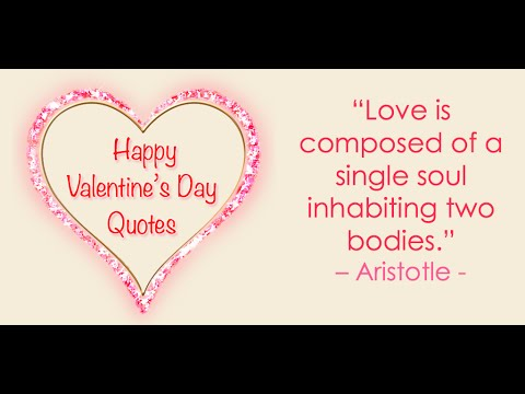 Valentines Day Quotes - Happy Valentine\'s Day Quotes For Everyone ...
