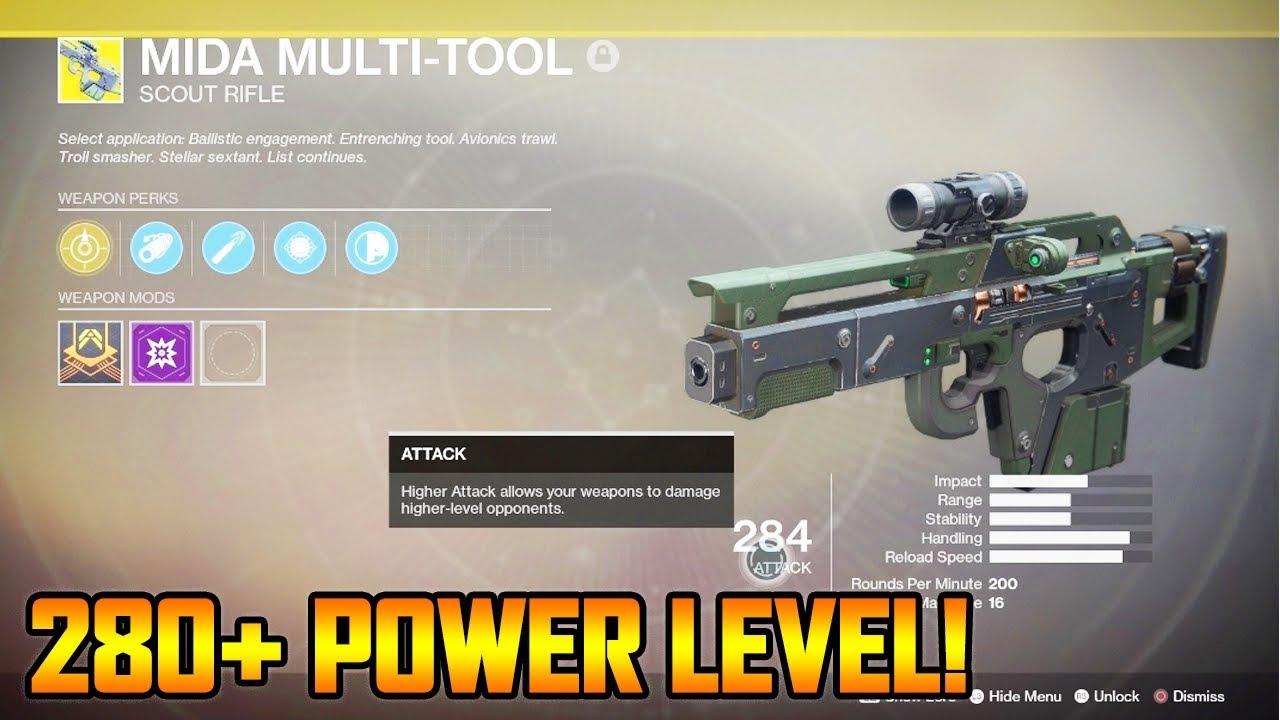 destiny 2 leveling guide 280