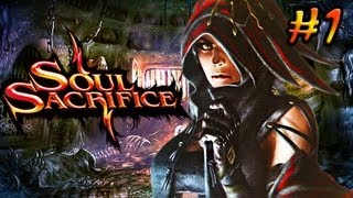 PS Vita Soul Sacrifice Gameplay - English Walkthrough